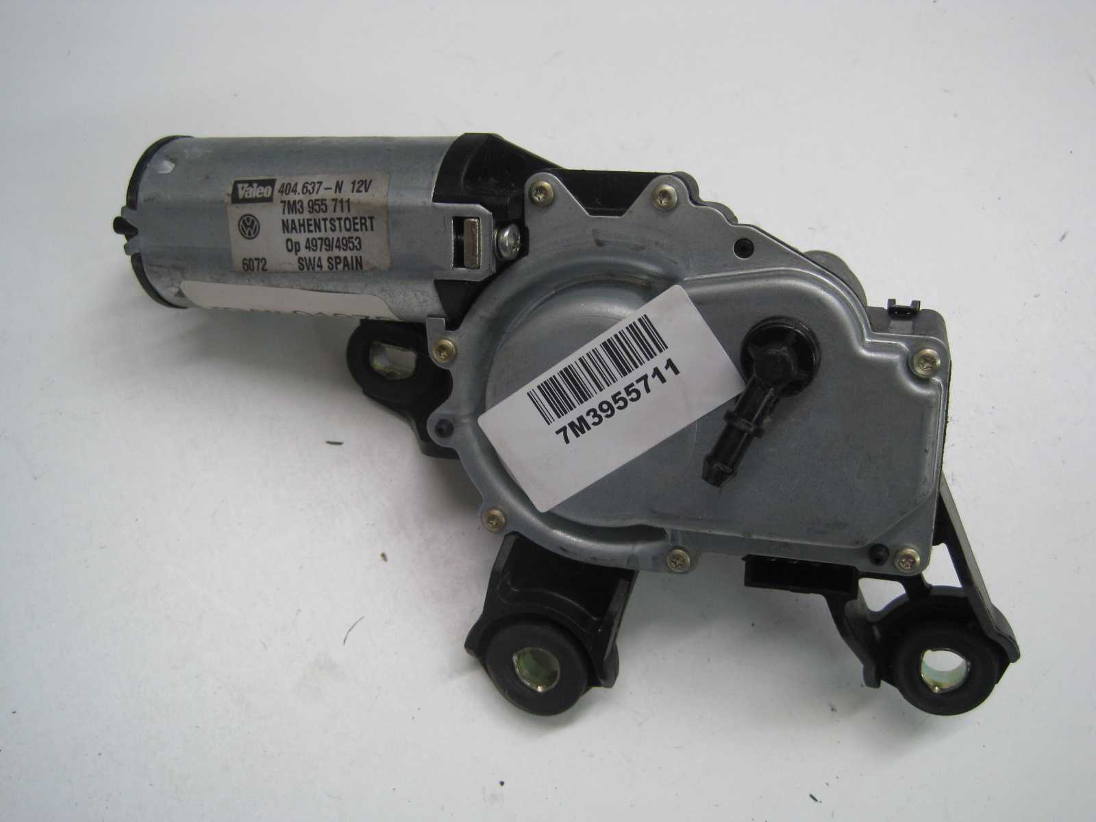 Wiper Motor Rear VW Sharan 7M3955711