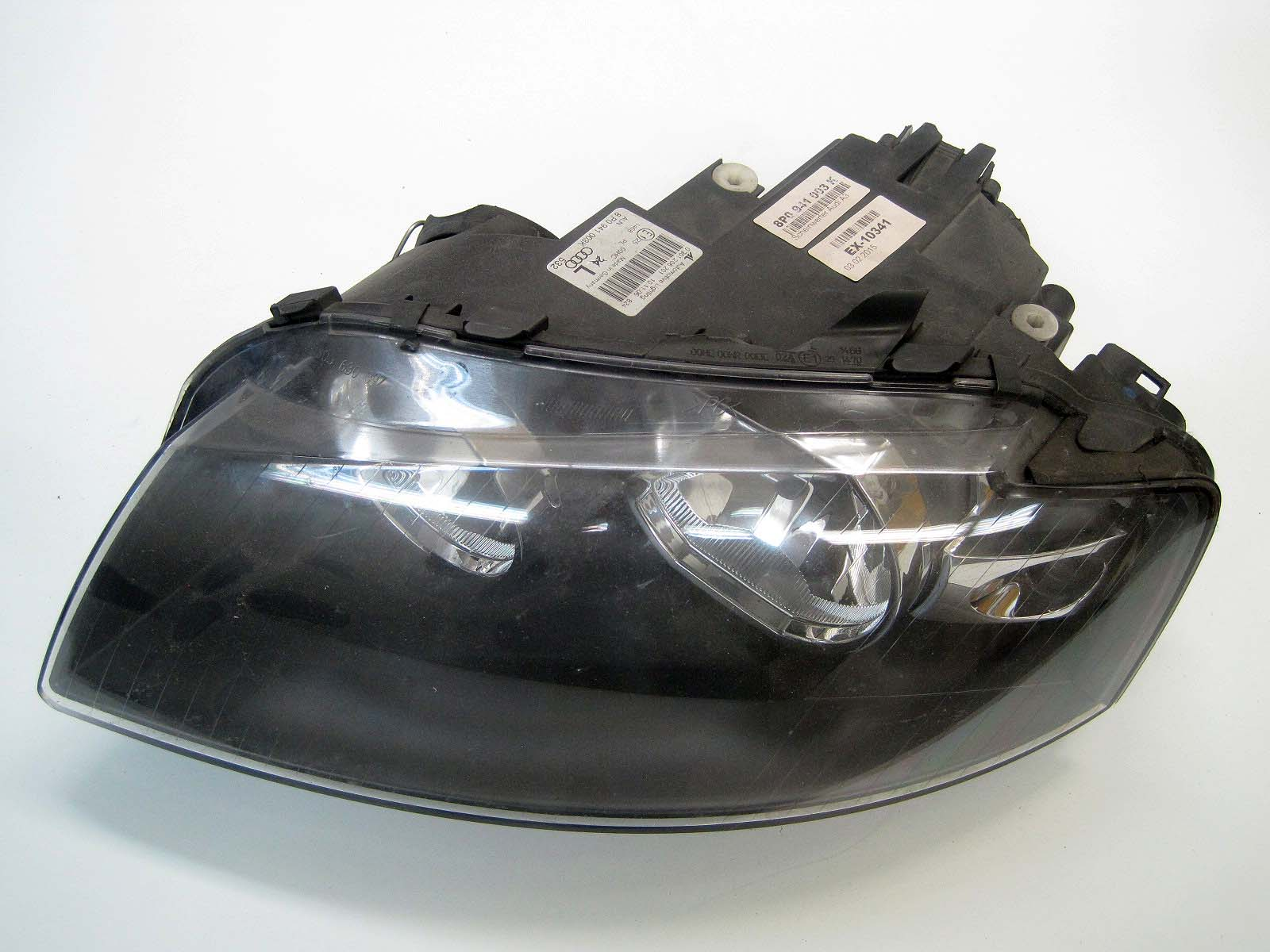 Headlight used 8P0941003K