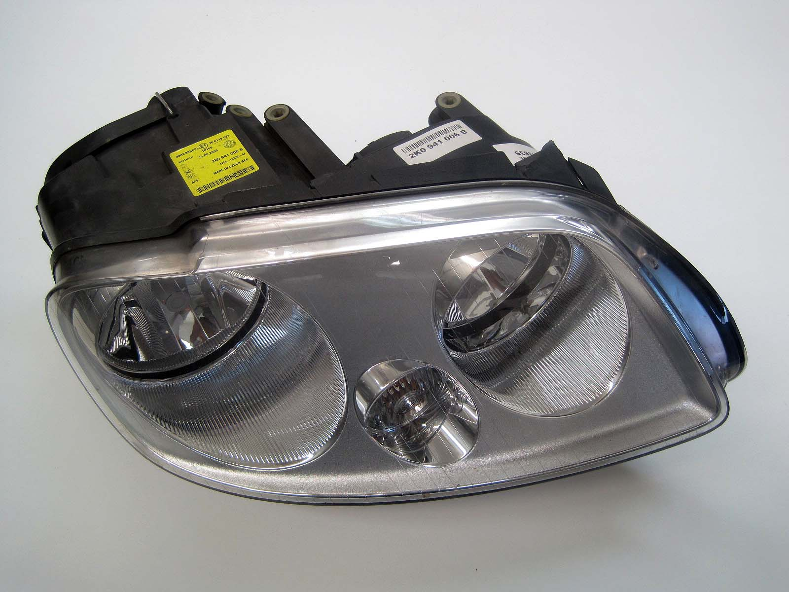 Headlight used 2K0941006B