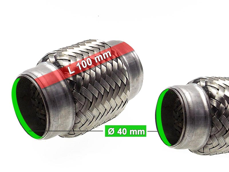 Flexible Hose Diameter 40 x 100 Length (mm)