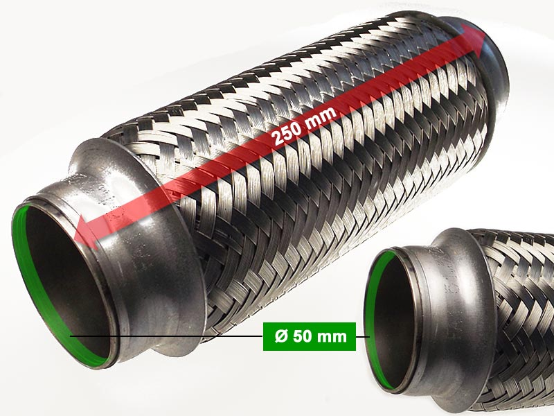 Flexible Hose Diameter 50 x 250 Length (mm)