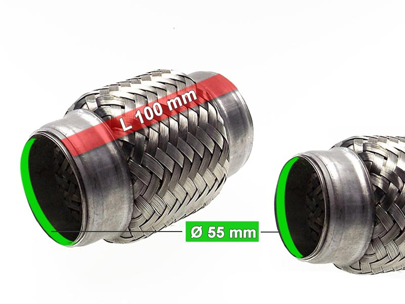 Flexible Hose Diameter 55 x 100 Length (mm)