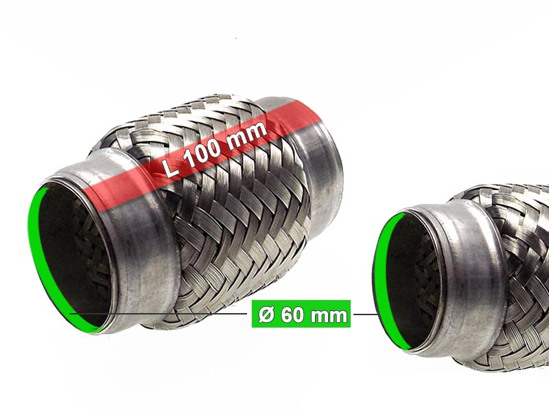 Flexible Hose Diameter 60 x 100 Length (mm)