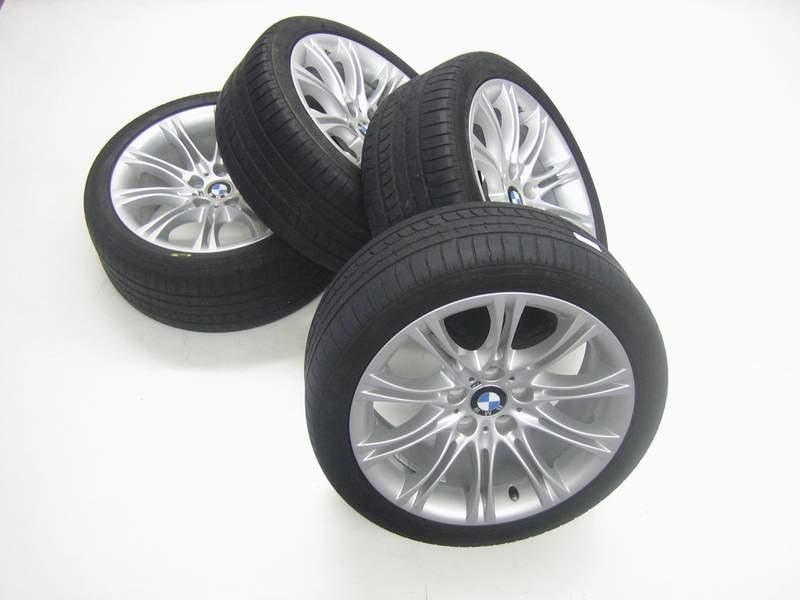 BMW 5er E60 E61 M5 18 ZOLL Alufelgen Sommerreifen 245/40 R18 Kompl